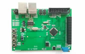 Sample Projects developed on EasyEDA: STM32F407 Board