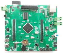 Sample Projects developed on EasyEDA: Industrial 5 port switch