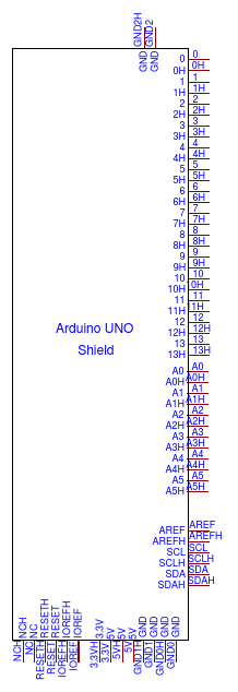 Arduino UNO Shield