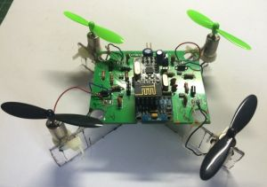 Custom Circuit Board for DIY Quadcopter