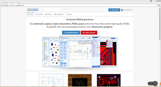 Electronic Circuit Simulation Software - EasyEDA