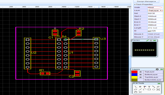PCB Layout Software - EasyEDA