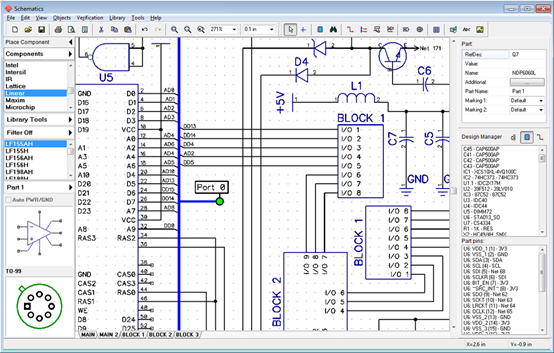 Electronic Schematic Design - Wire Data Schema •