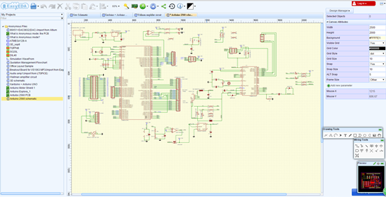 circuit design software on linux easyeda rh easyeda com Electronic Circuit Diagrams Electronic Schematic Software