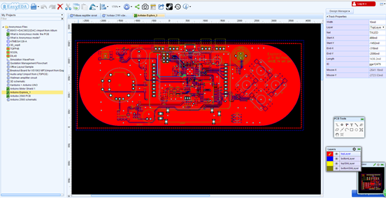 PCB design software (EDA) for Linux users | Let\'s Make Robots ...