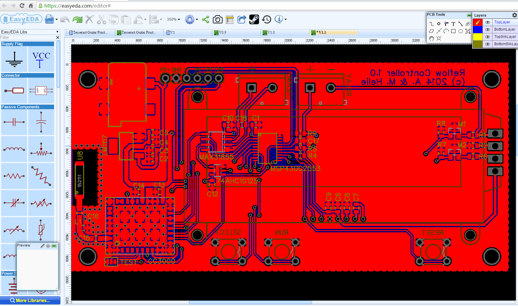 Online Electronic Circuit Wiring Diagram And Ebooks Maker Schematic To Pcb Easyeda For Design Rh Com Drawing