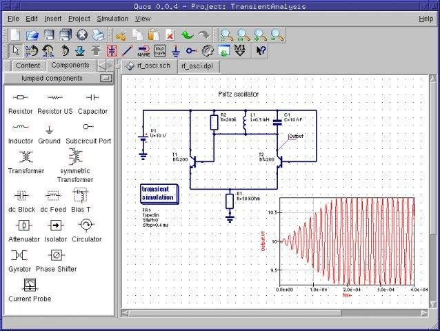 Circuit simulation software for mac easyeda the program is released under the gnu general public license in source code form so you will need to compile it yourself before you can run it qucs ccuart Choice Image
