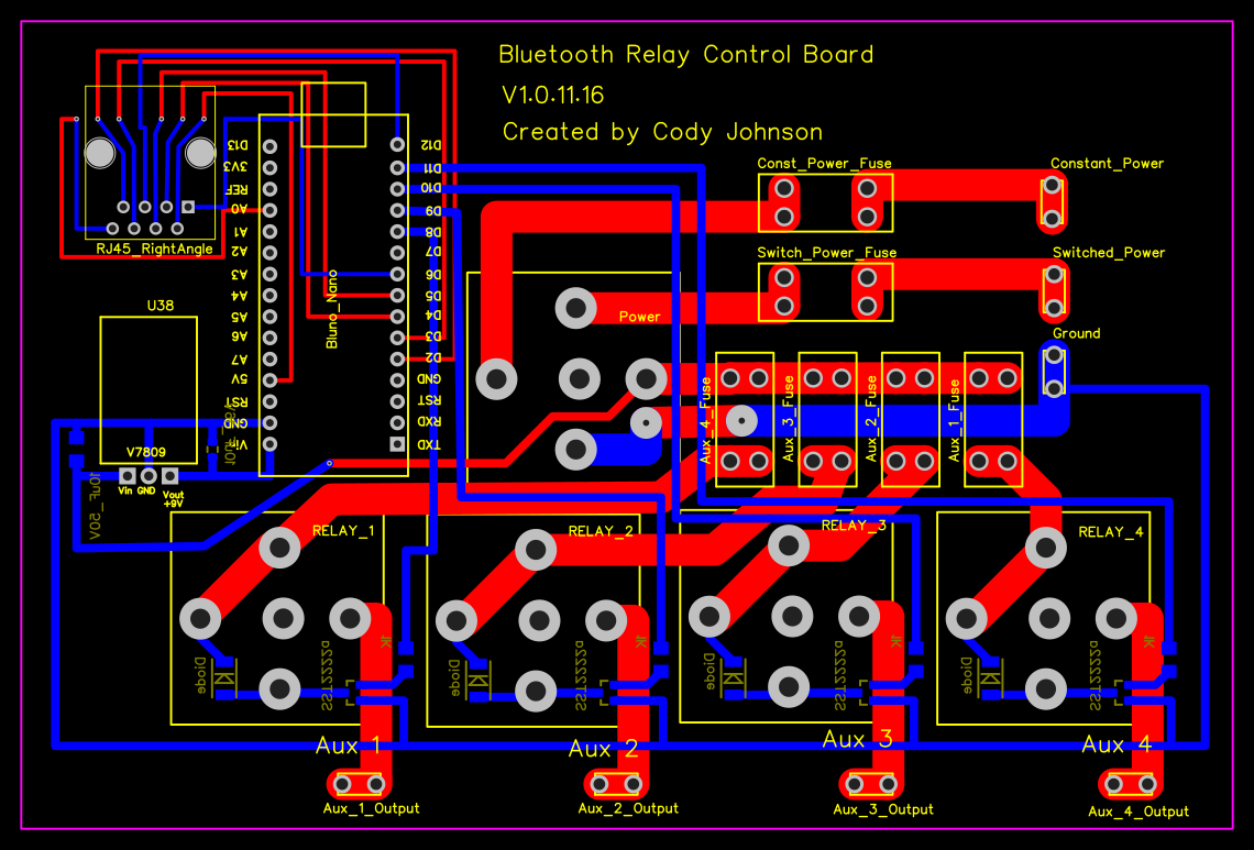 Forum Easyeda An Easier Electronic Circuit Design Experience Board Trace Side Relay Control Pcb Draft