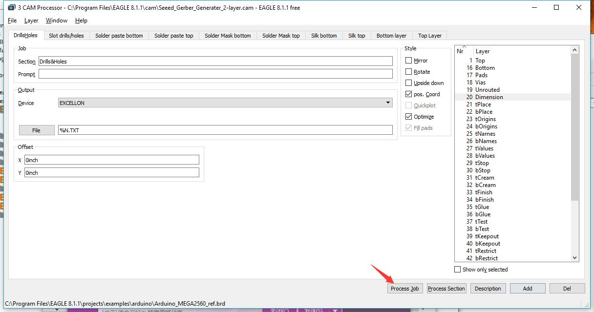 How to generate Gerber file from Eagle - EasyEDA