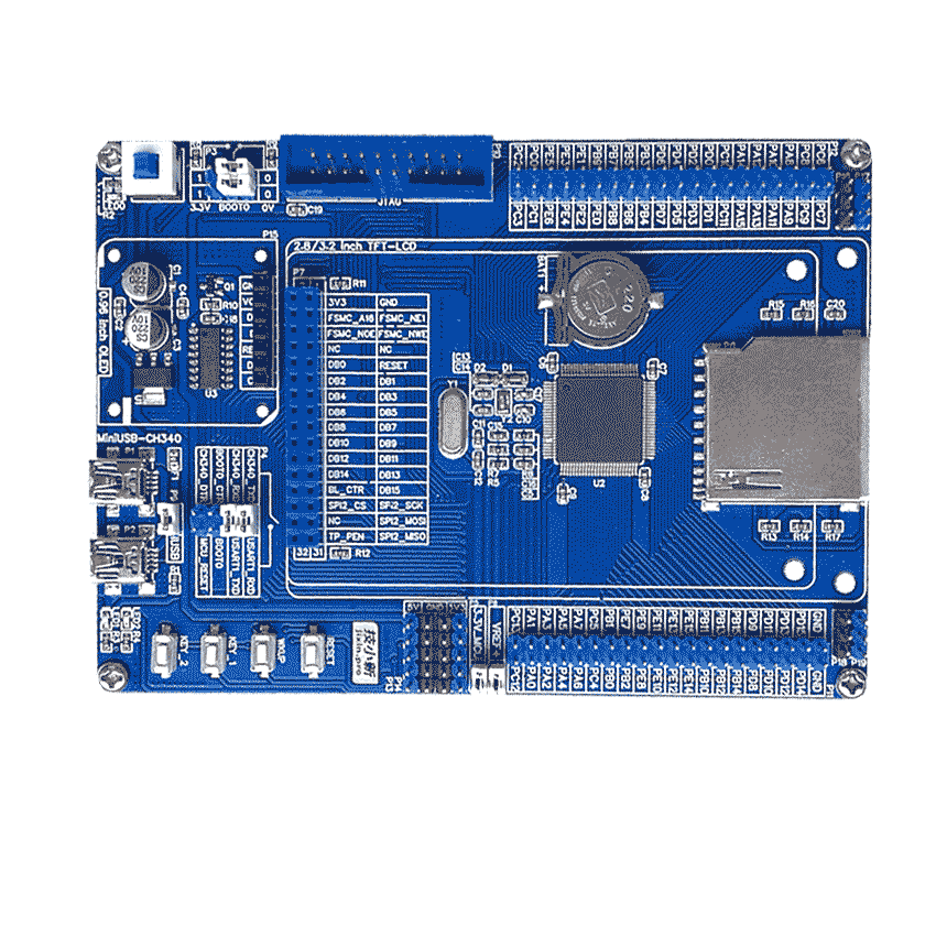 STM32F103VE_Board_JX_V1.0