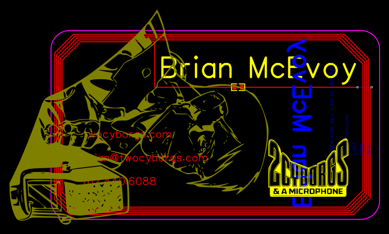 2CbMic Business Card Brian (Ordered 2017-09-06)