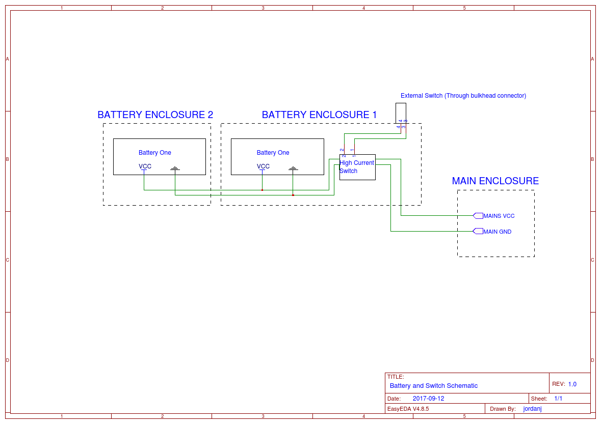 Bluerov2 Easyeda External Schematic This Is The Of Connections Make 1 Tether Connection