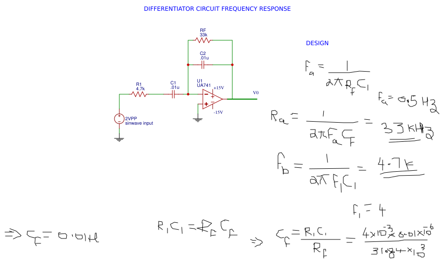 experiments with op amp - EasyEDA