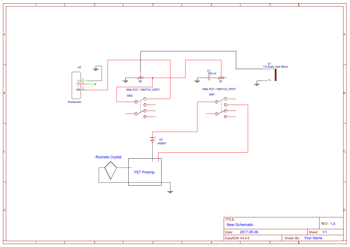 Guitar Wiring Diagram Editor - Wiring Diagrams ROCK