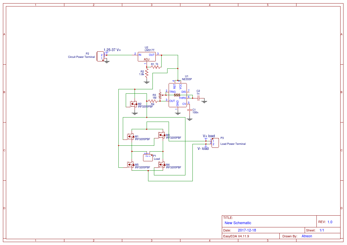 Induction Smelter Circuit Easyeda Diagram Of Heater Model 1