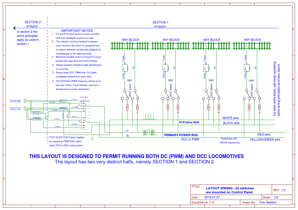 Wiring Diagrams Easyeda Layout Power Supply Unit