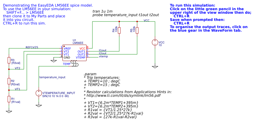 How to make Electronic Circuits simulation On easyeda? - EasyEDA