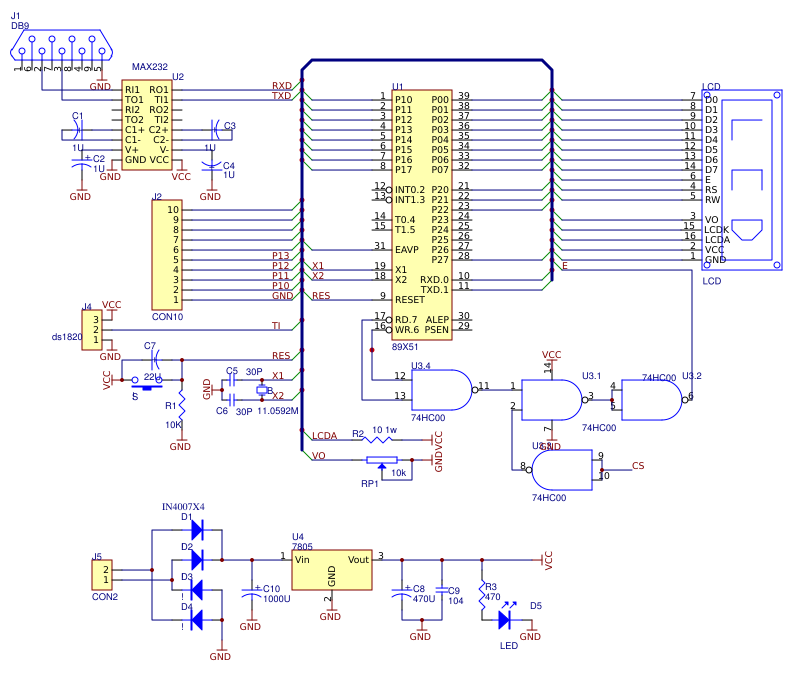 Microcontroller Based Temperature Data Acquisition And Data Logger