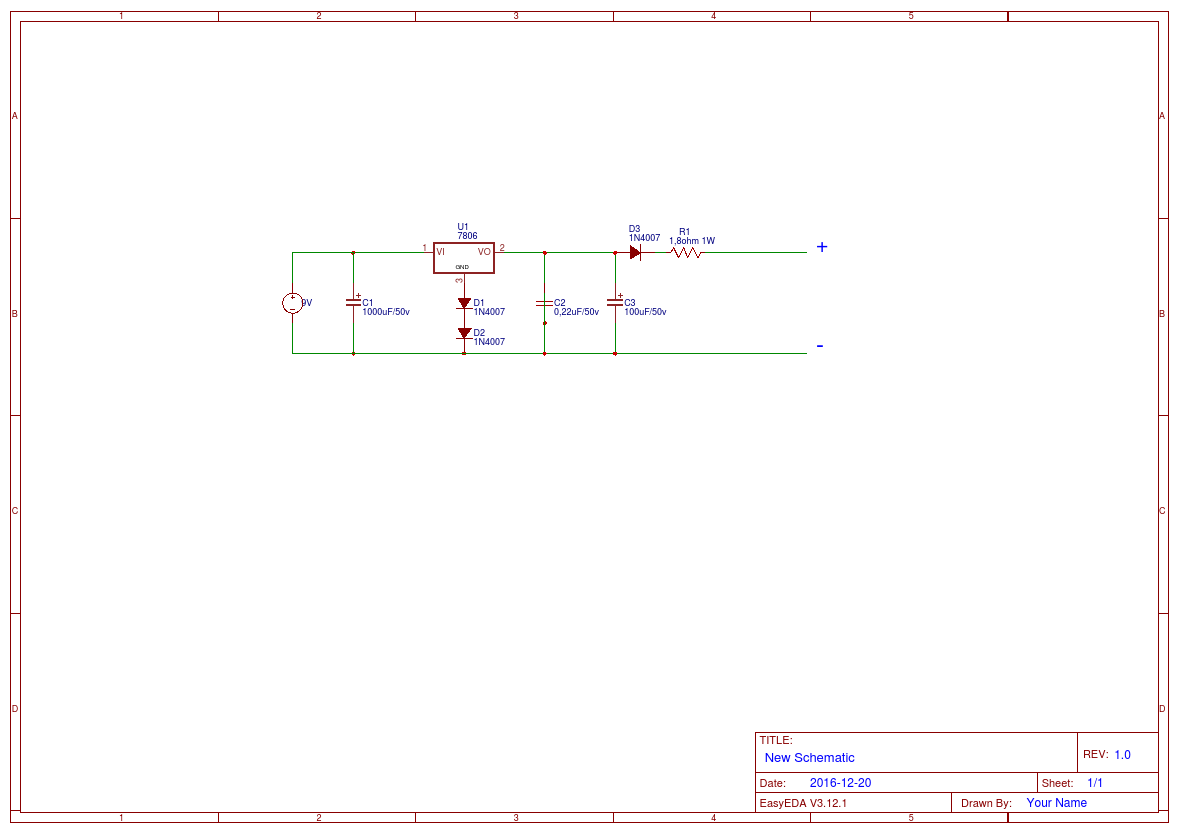 6v Battery Charger Easyeda Circuit Diagram Of