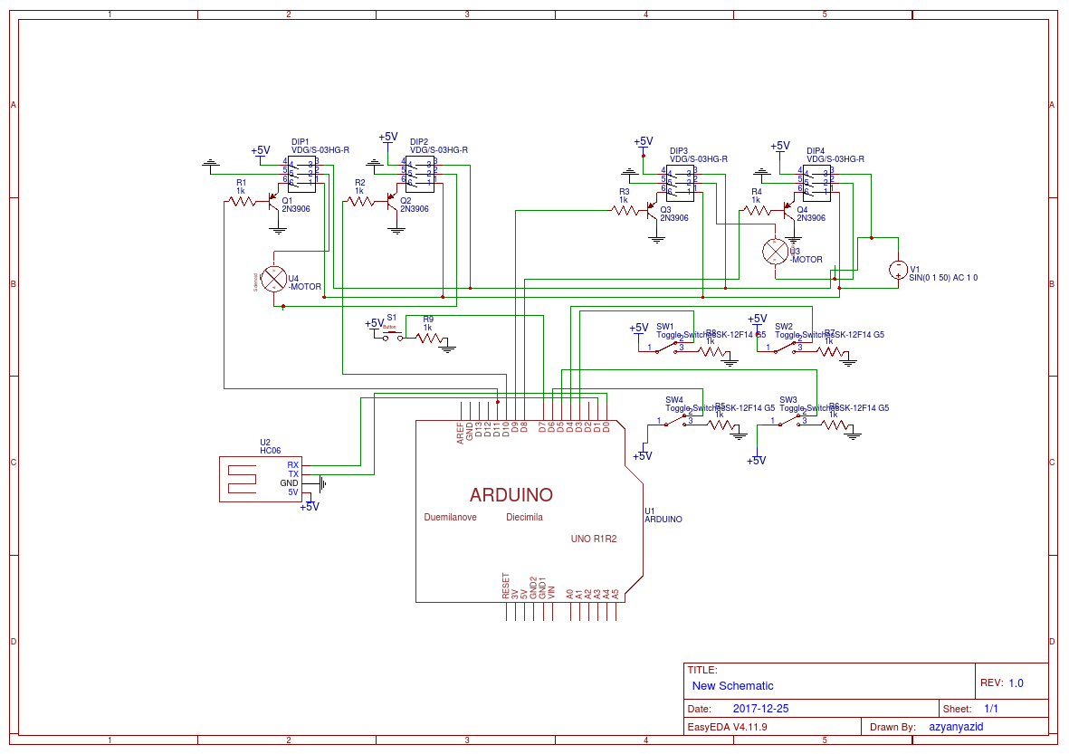Controlling 2 Motor Power Window With 4 Channel Relay Module Via Switch Bluetooth New Schematic