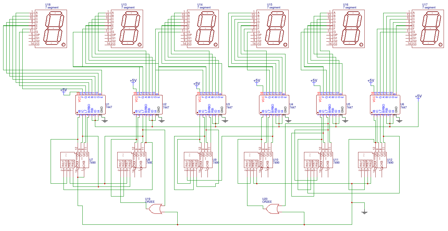 circuit diagram of 7 segment digital clock schematic circuit diagram of induction cooker #10
