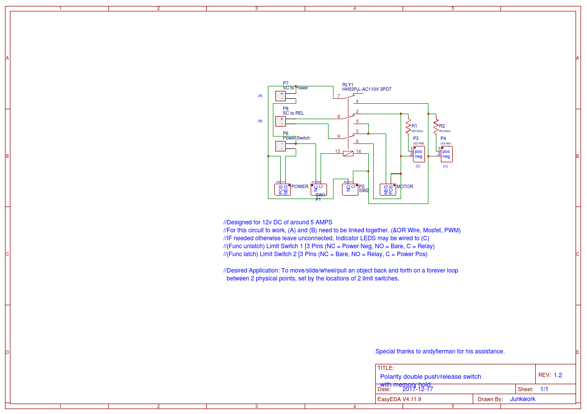 Reversing 3pdt Switch Wiring Diagram 4pst Dp34 Single Pole