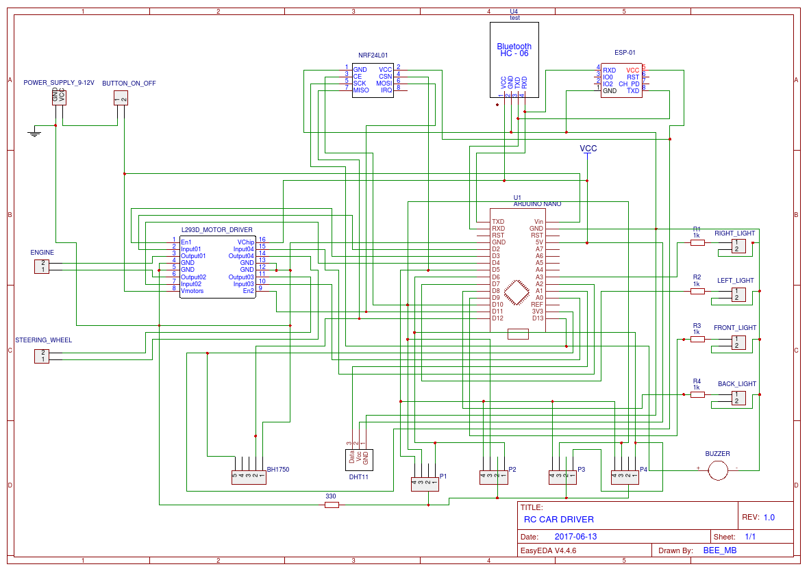 Rc Car Schematic Wiring Diagram Name Fm Transmitter Circuit Using Transistors Gadgetronicx Easyeda Electronics
