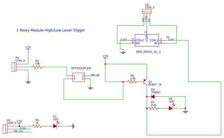 Relay 12v With Optocupler  How To