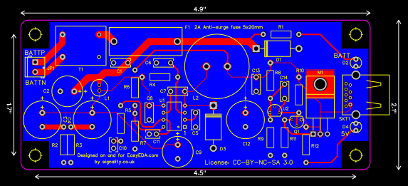 SMPS PCB