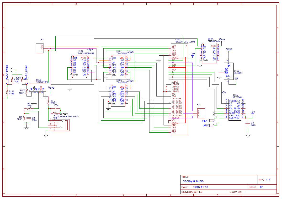 Ti 84 Logicboard Easyeda Schematic Diagram Keyboard