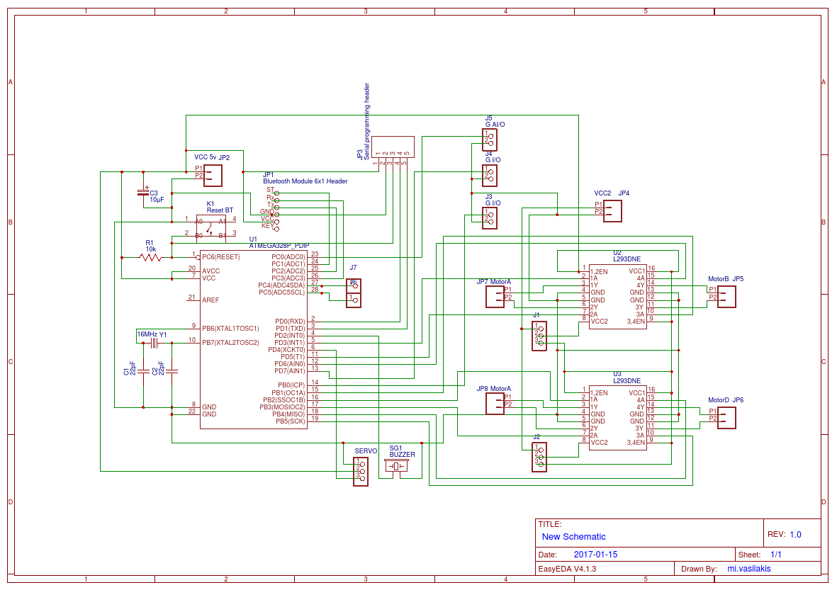 Custom Arduino Uno Based Circuit Easyeda Diagram Xml Schematic