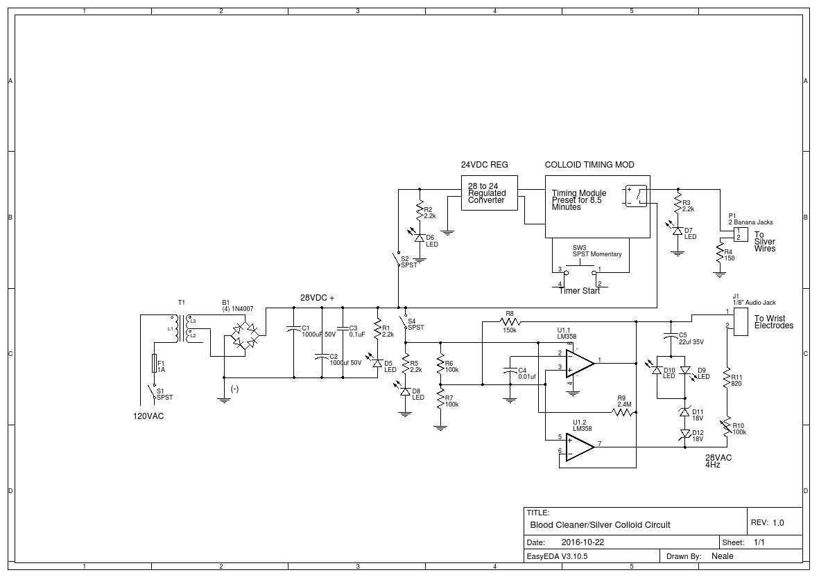 Medical Magnetic Pulser circuit - EasA on
