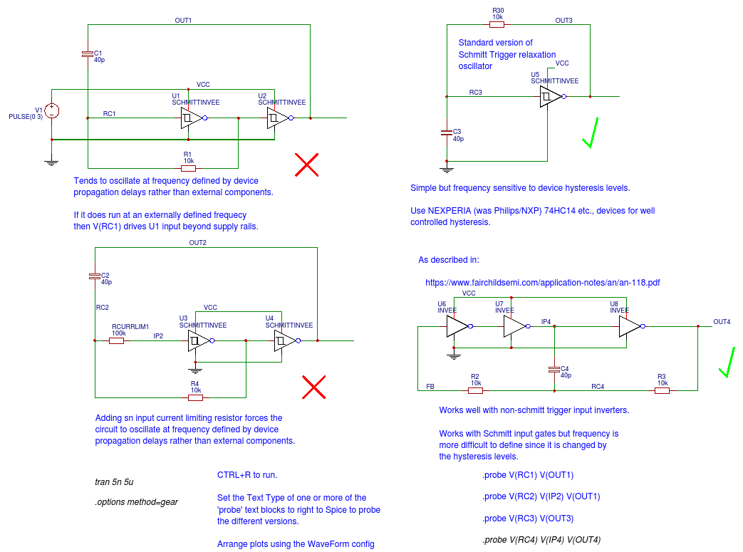 Ways To Make Oscillators Using Logic Gates Easyeda With Diagram