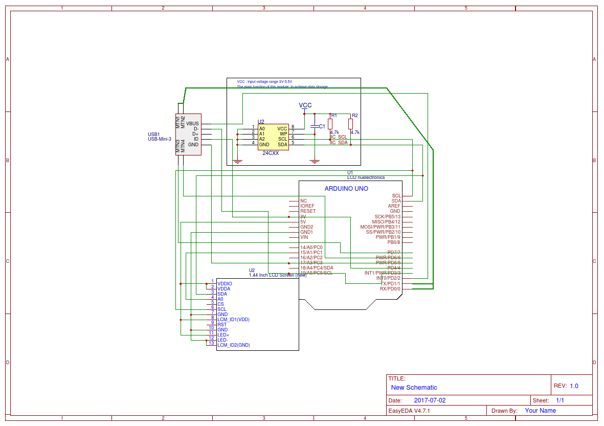 Basic Computer Schematic Wiring Database Library Parts Diagram Easyeda Of Laptop Components