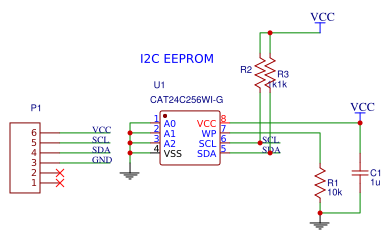 Two-wire Serial EEPROM Memory copy - EasyEDA