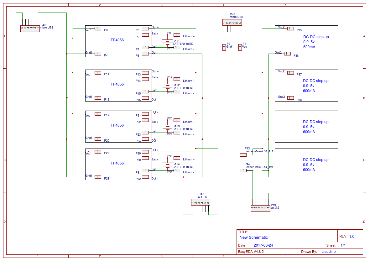 Lithium Battery Charger Easyeda Diagram Of A Schematic