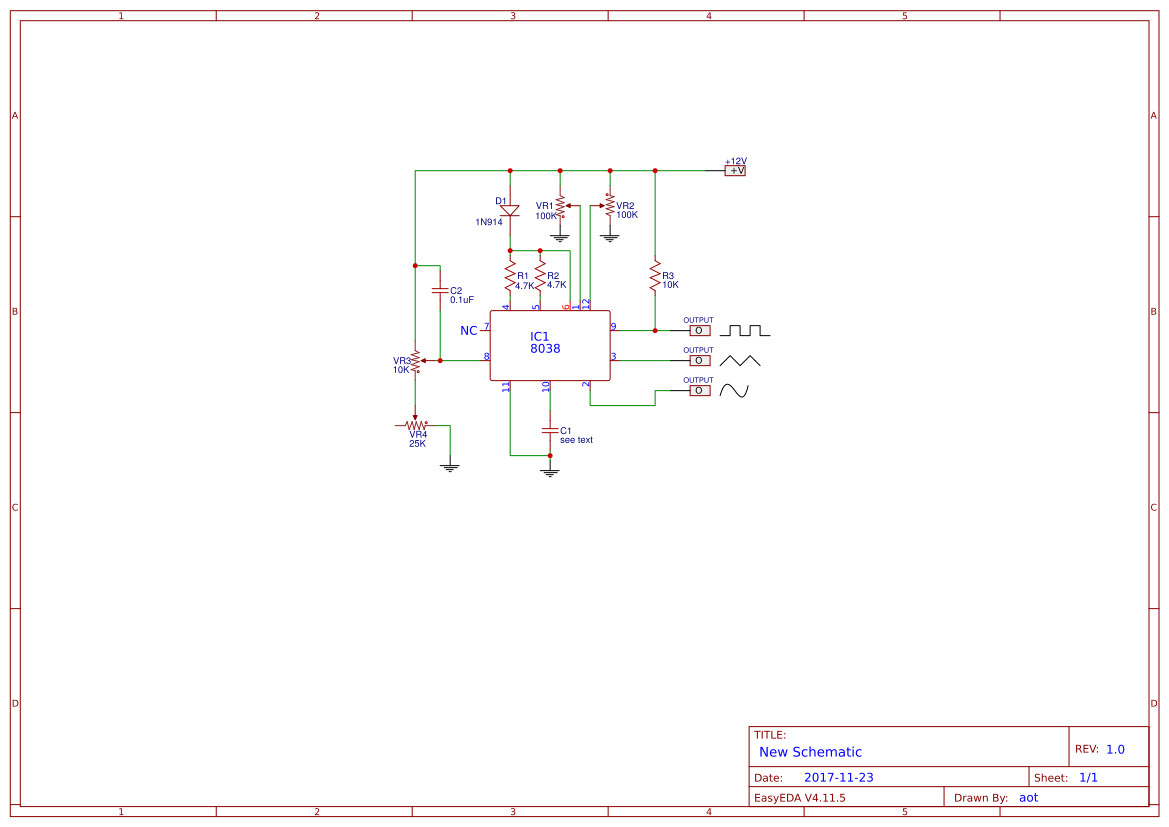Trianglewave Generator 1 Circuit Diagram Tradeoficcom