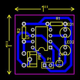 555 Timer Astable Multivibrator Search Easyeda Oscillator Default Thumb