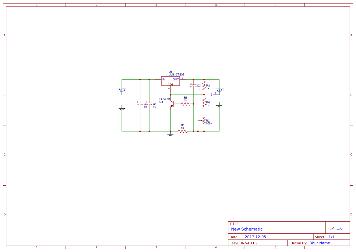 6v Battery Search Easyeda Chargher Using Lm317 Regulator Circuit Schematic Charger