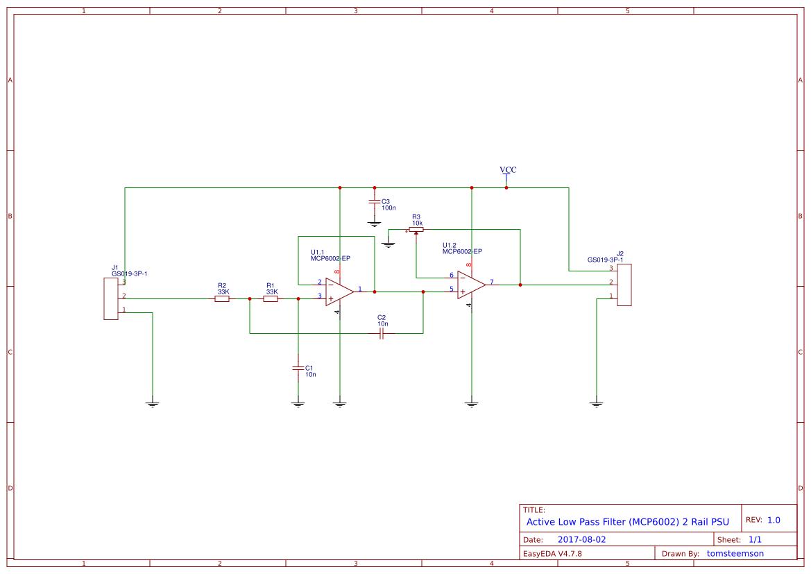 Low Pass Filter Circuite Search Easyeda Rclowpassfiltercircuitdiagramjpg Default Thumb