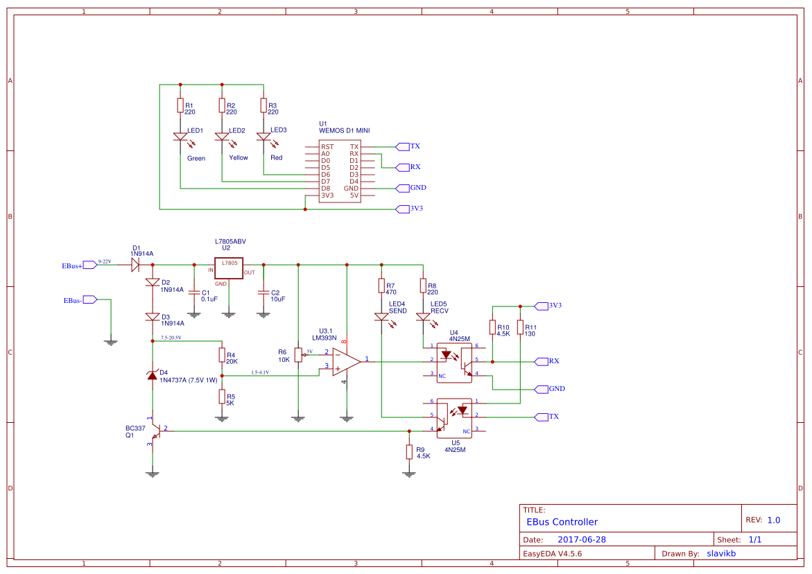 Explore Easyeda Am Fm Radio Pcb Circuit Board And Tablet View Pcba Esp8266 Ebus Controller