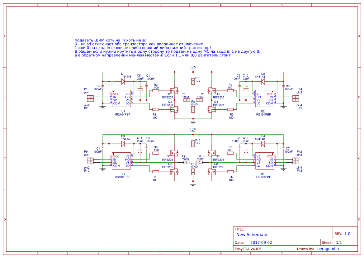 Explore Easyeda Isolated Buck Led Driver Eeweb Power Integrations Tech Community H Bridge Ir2104