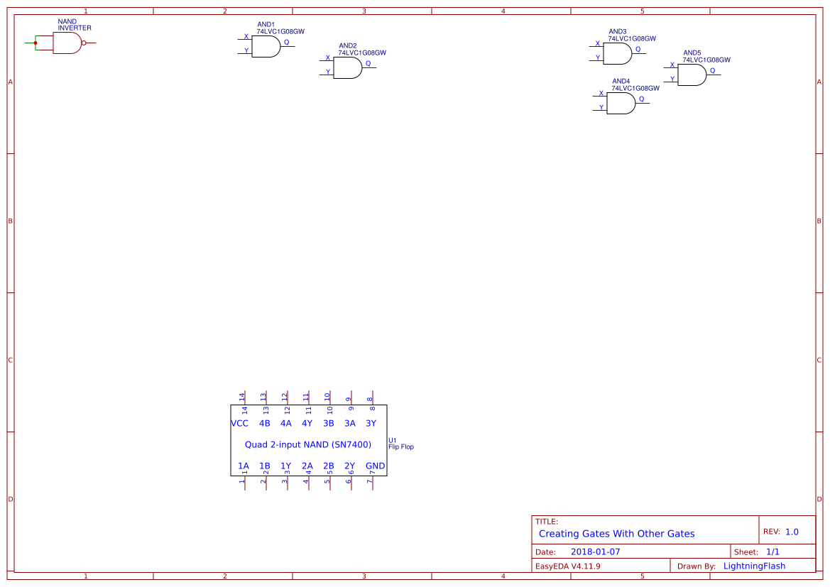Logic Gate Supply Search Easyeda Ladder Diagram Nand Default Thumb
