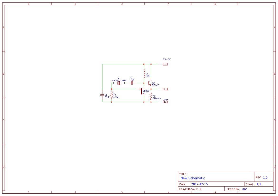 4mhz Crystal Search Easyeda Tester Diagram Low Voltage Oscillator Circuit Using Fet