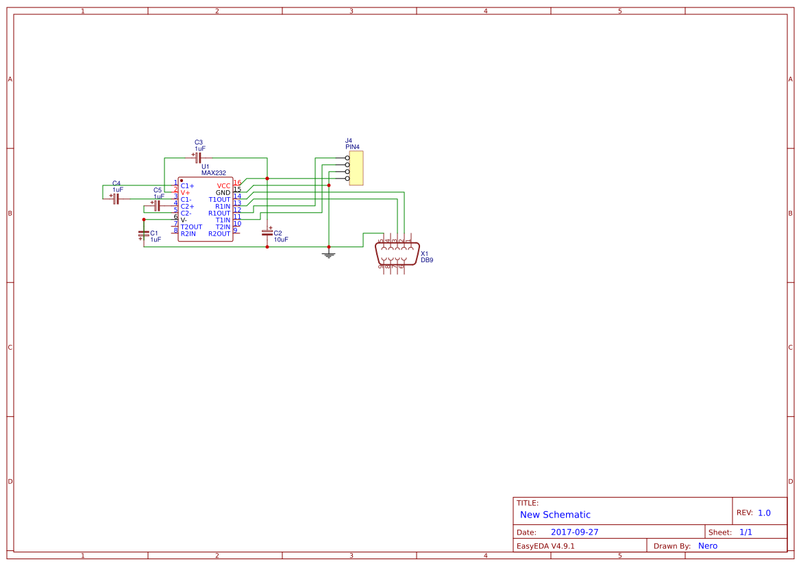 232 Ttl Search Easyeda Max232 Pin Diagram Default Thumb