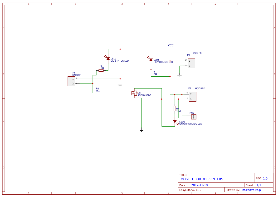 Explore Easyeda 12v To 9v 2a Step Down Dc Converter Using Ic 741 And 2n3055 Mosfet 3d Printer