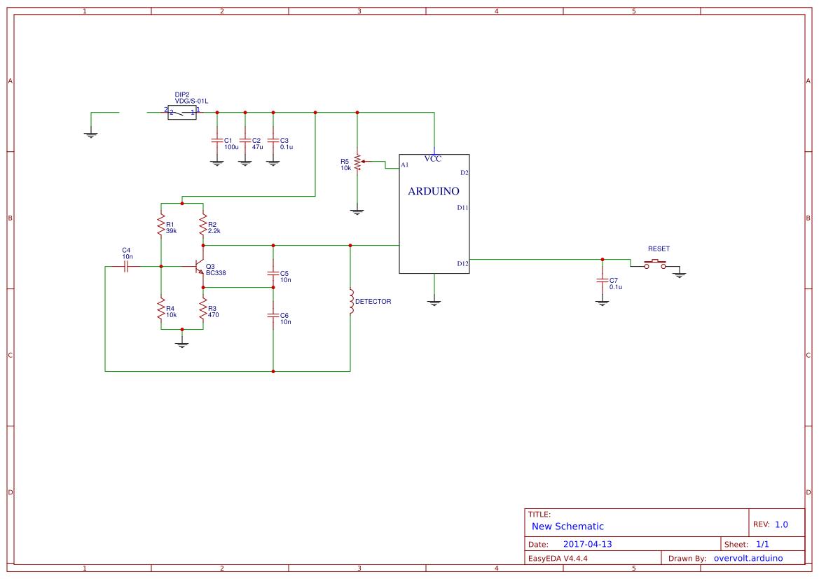 Detector Metales Search Easyeda Simple Metal Circuit 555 Diagram Default Thumb