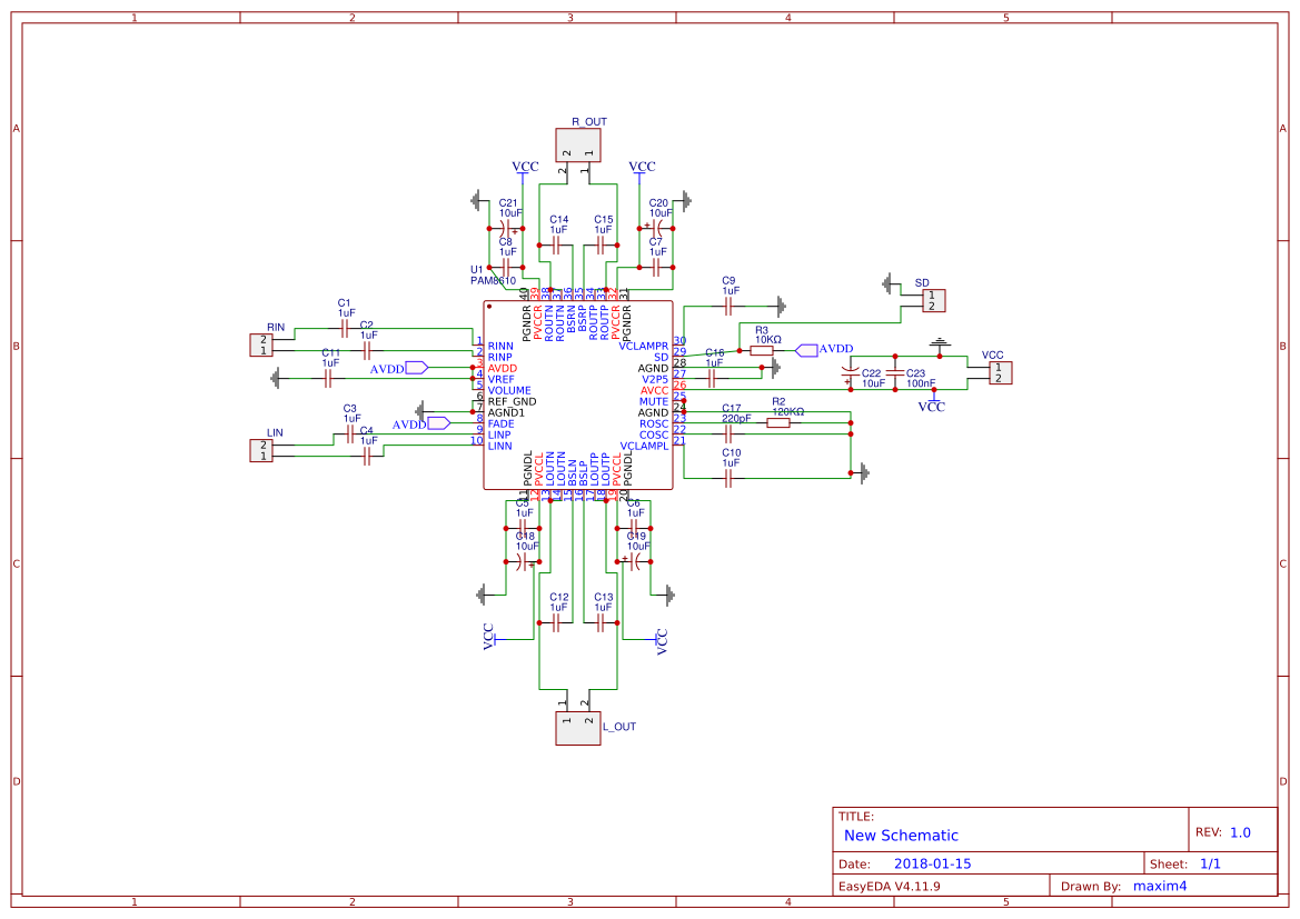 Explore Easyeda Electronic Circuit Board Manufacturerpcb Layout Design In China Buy Pam8610