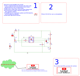 PWM dimmer using NE555 and MOSFET IRF540 Schematic