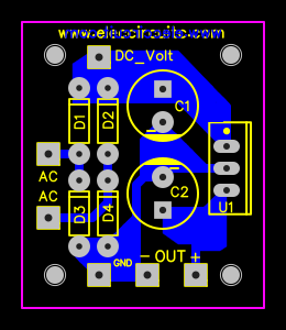 Circuit Diagram Together With 12v To 9v Voltage Regulator On Chayapol Easyeda Many Fixed Circuits 5v6v9v10v12v 1a Using Ic 78xx Series